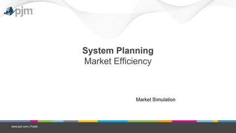 Thumbnail for entry Planning 201 - Market Efficiency