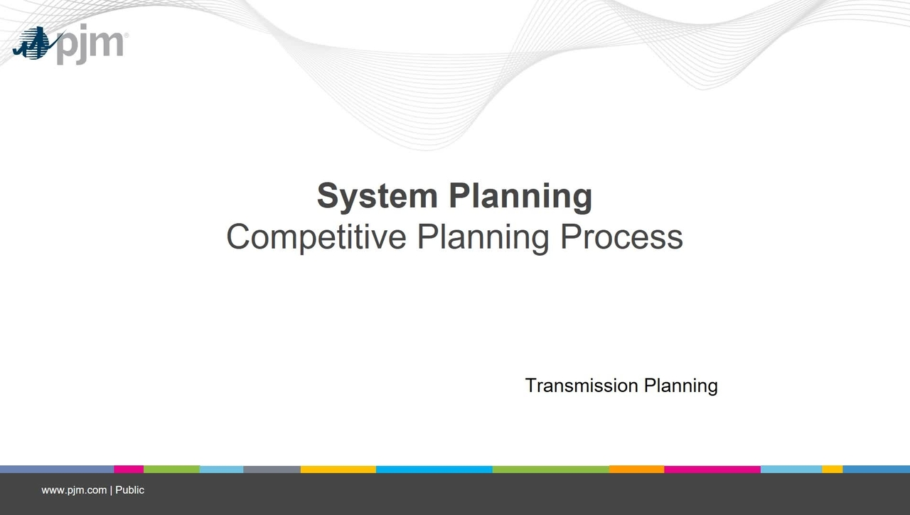Planning 201 - Competitive Planning Process