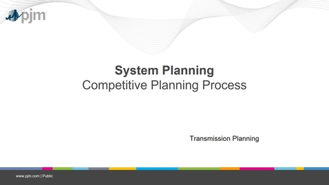 Thumbnail for entry Planning 201 - Competitive Planning Process