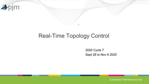 Thumbnail for entry Real-Time Topology Control