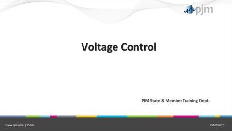 Thumbnail for entry Voltage Control