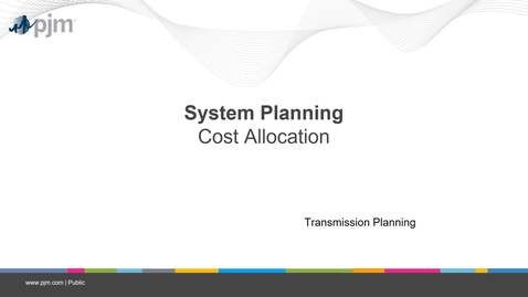Thumbnail for entry Planning 201 - Cost Allocation