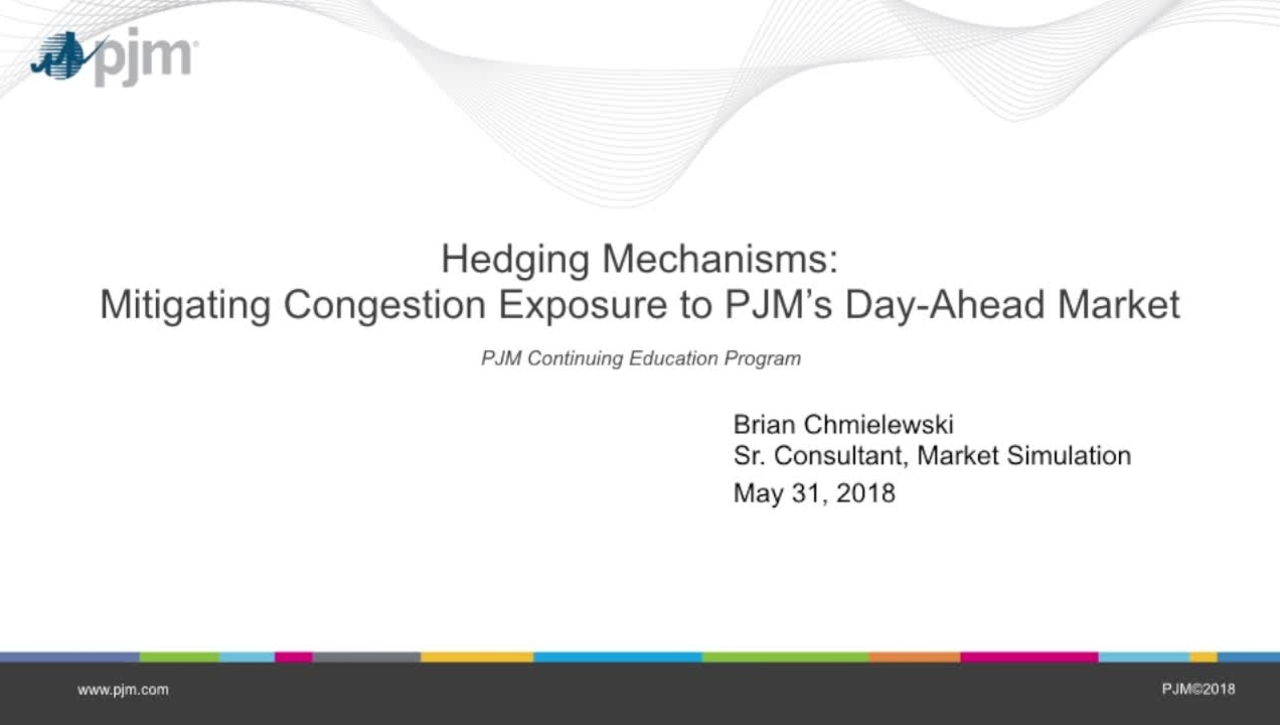 Hedging Mechanisms