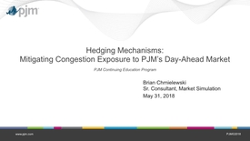 Thumbnail for entry Hedging Mechanisms