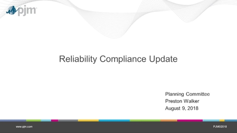 Thumbnail for entry Reliablity Compliance Update
