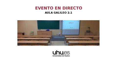 Miniatura para la entrada Aula Galileo 2.1