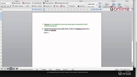 Miniatura para la entrada Crear y exportar preguntas en formato GIFT
