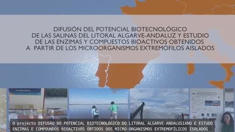 Miniatura para la entrada PROYECTO DIFUSIÓN POTENCIAL BIOTECNOLOGICO DEL LITORAL ALGARVE ANDALUZ
