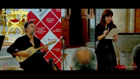 Miniatura para la entrada Ciclo Música Antigua UHU 2021 CANTICA
