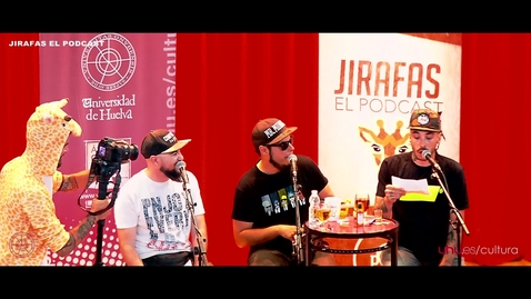 "Miniatura para la entrada ""Jirafas"" Podcast en vivo Universidad de Huelva"