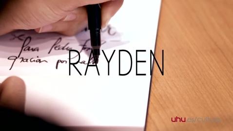 Miniatura para la entrada Presencias Literarias: Rayden
