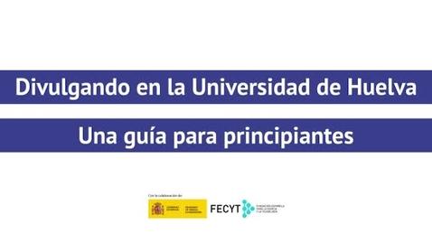Miniatura para la entrada Divulgando en la Universidad de Huelva - Saúl Lázaro