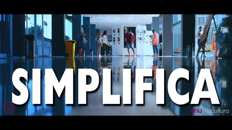 """Miniatura para la entrada Exposición """"SIMPLIFICA"""".  Alumnado de la Escuela de fotografía y vídeo de la UHU."""