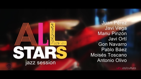 "Miniatura para la entrada Concierto Jazz Session ""All Stars"" Universidad de Huelva"