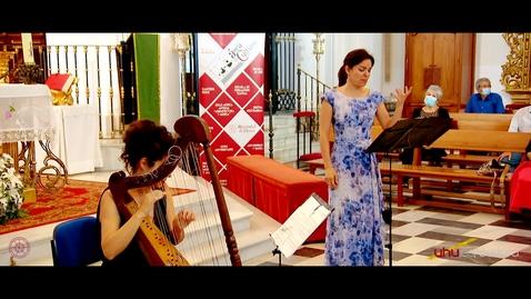 """Miniatura para la entrada XIV Ciclo de Música Antigua """"Arquitectura y Música"""" ROCÍO DE FRUTOS Y SARA ÁGUEDA / La suavísima armonía"""