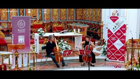 """Miniatura para la entrada XIV Ciclo de Música Antigua """"Arquitectura y Música"""" LA HISPANIOLA . Área de Cultura Universidad de Huelva."""