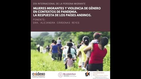 Miniatura para la entrada Mujeres migrantes y violencia de género en contextos de pandemia. La respuesta de los países andinos.