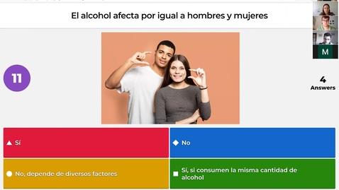 Miniatura para la entrada Taller de consumo de alcohol responsable. 1 parte.