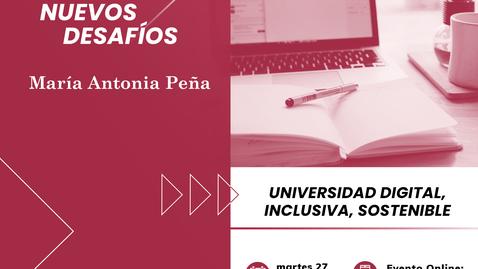 Miniatura para la entrada Universidad digital, inclusiva y sostenible