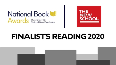 Thumbnail for entry National Book Awards Finalists Reading 2020