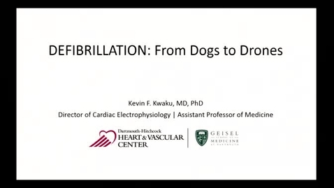 Cardiac Defibrillation: From Dogs to Drones