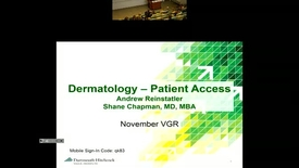 Thumbnail for entry Patient Access – Dermatology