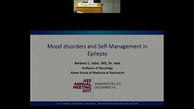 Thumbnail for entry Depression and Self-management in epilepsy