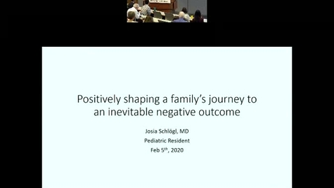 Thumbnail for entry Positively shaping a family's journey to an inevitable negative outcome.