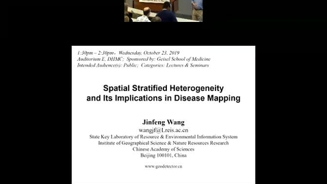 Thumbnail for entry Spatial Stratified Heterogeneity and Its Implications in Disease Mapping