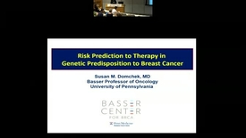 Thumbnail for entry Genetic Testing for Breast and Ovarian Cancer: Risk Prediction to Therapy