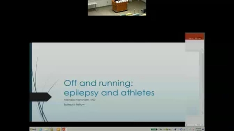 Off and running: Epilepsy and athletes