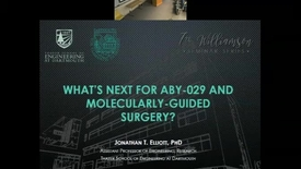 Thumbnail for entry What's next for ABY-029 and molecularly guided surgery?