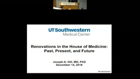 Thumbnail for entry Renovations in the House of Medicine: Past, Present, and Future