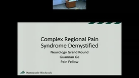 Thumbnail for entry Complex Regional Pain Syndrome