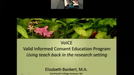 Thumbnail for entry VoICE Valid Informed Consent Education Program