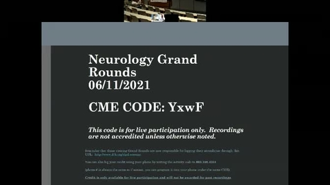 Thumbnail for entry Neuro-COVID: Let's Understand It But Not Get It