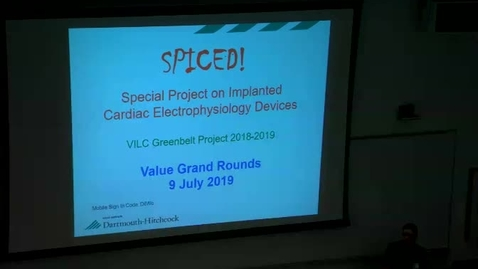 SPICED (Special Project on Implanted Cardiac Electrophysiology Devices)