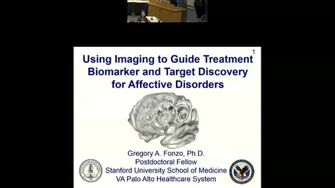 Using Imaging to Guide Treatment Biomarker and Target Discovery for Affective Disorders