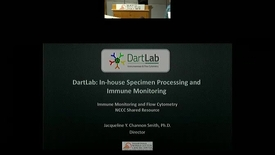 Thumbnail for entry DartLab: In-house Specimen Processing and Immune Monitoring