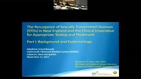 Thumbnail for entry The Resurgence of Sexually Transmitted Diseases (STDs) in New England and the Clinical Imperative for Appropriate Testing and Treatment