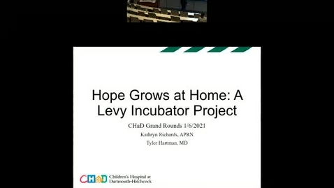Thumbnail for entry Hope Grows at Home.  A Levy Incubator Project