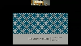 Thumbnail for entry Teen Dating Violence