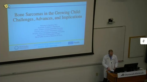 Thumbnail for entry Bone Sarcomas in the Growing Child: Challenges, Advances & Implications