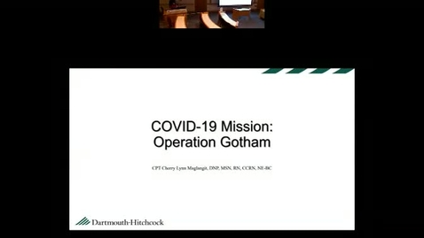 Thumbnail for entry Covid 19 Mission: Operation Gotham