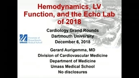 Thumbnail for entry Hemodynamics, Ventricular Function, and the Echo Lab of 2018