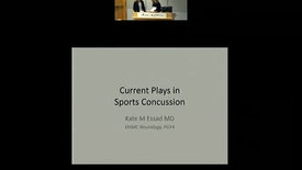 Thumbnail for entry Current Plays in Sports Concussion