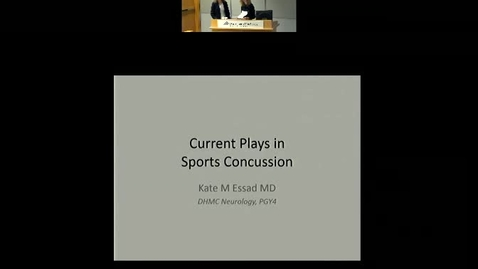 Current Plays in Sports Concussion