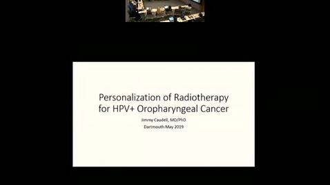 Thumbnail for entry Personalization of Radiotherapy for Head and Neck Cancer