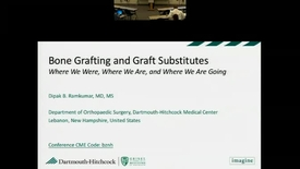 Thumbnail for entry Bone Grafting & Substitutes