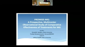 Thumbnail for entry PROMISE-MG: A prospective multicenter observational study of comparative effectiveness of myasthenia gravis treatments